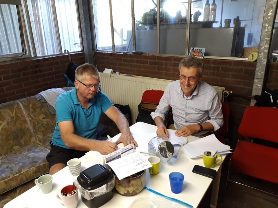 Wim Doorn en Gert de Vos.