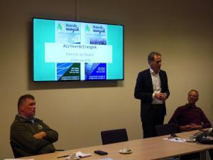 Presentatie door bestuur